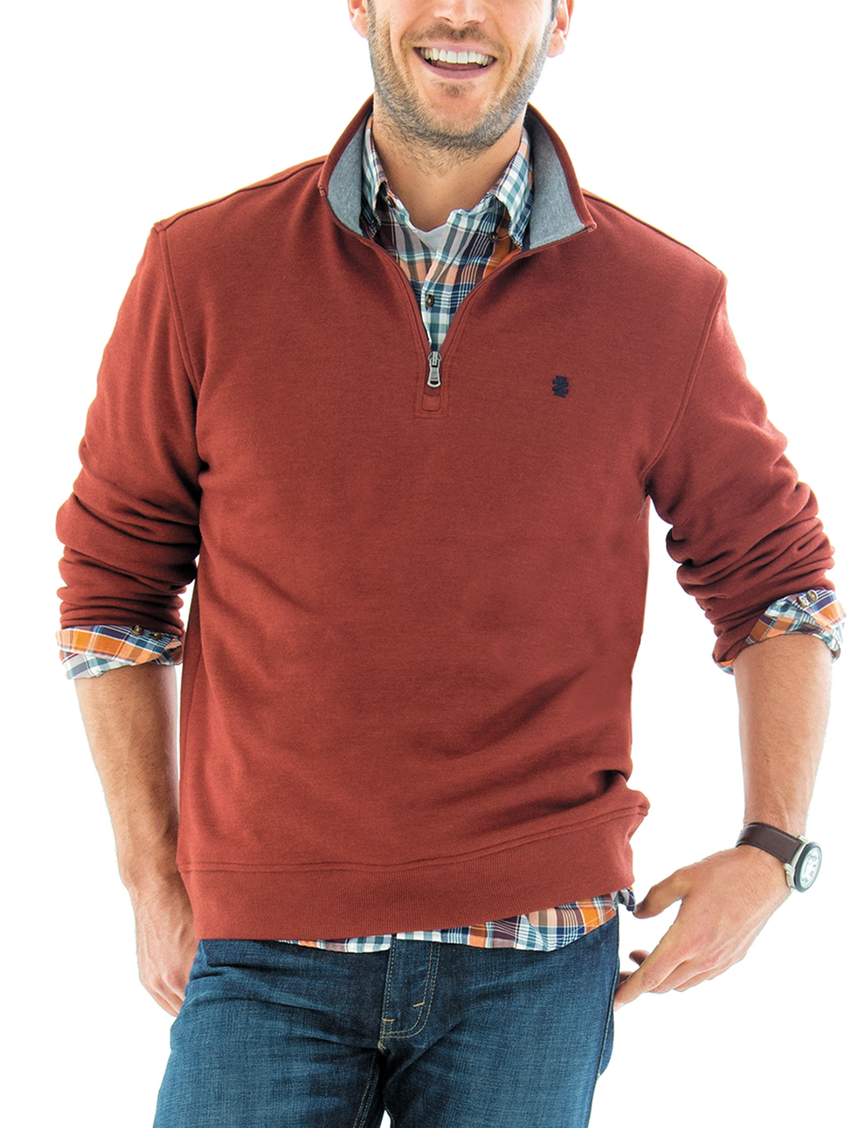 Izod Red Pull-overs