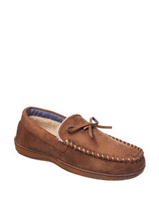Dockers Moccasin Tan Slippers