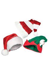Nifty 3-pk. Christmas Hats