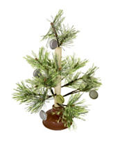 Nifty Country Christmas Tree Plunger