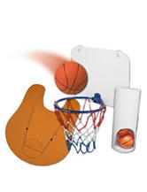 Nifty Bathroom Basketball Set