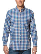 Chaps Men's Big & Tall Plaid Woven Shirt