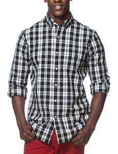 Chaps Plaid Print Shirt