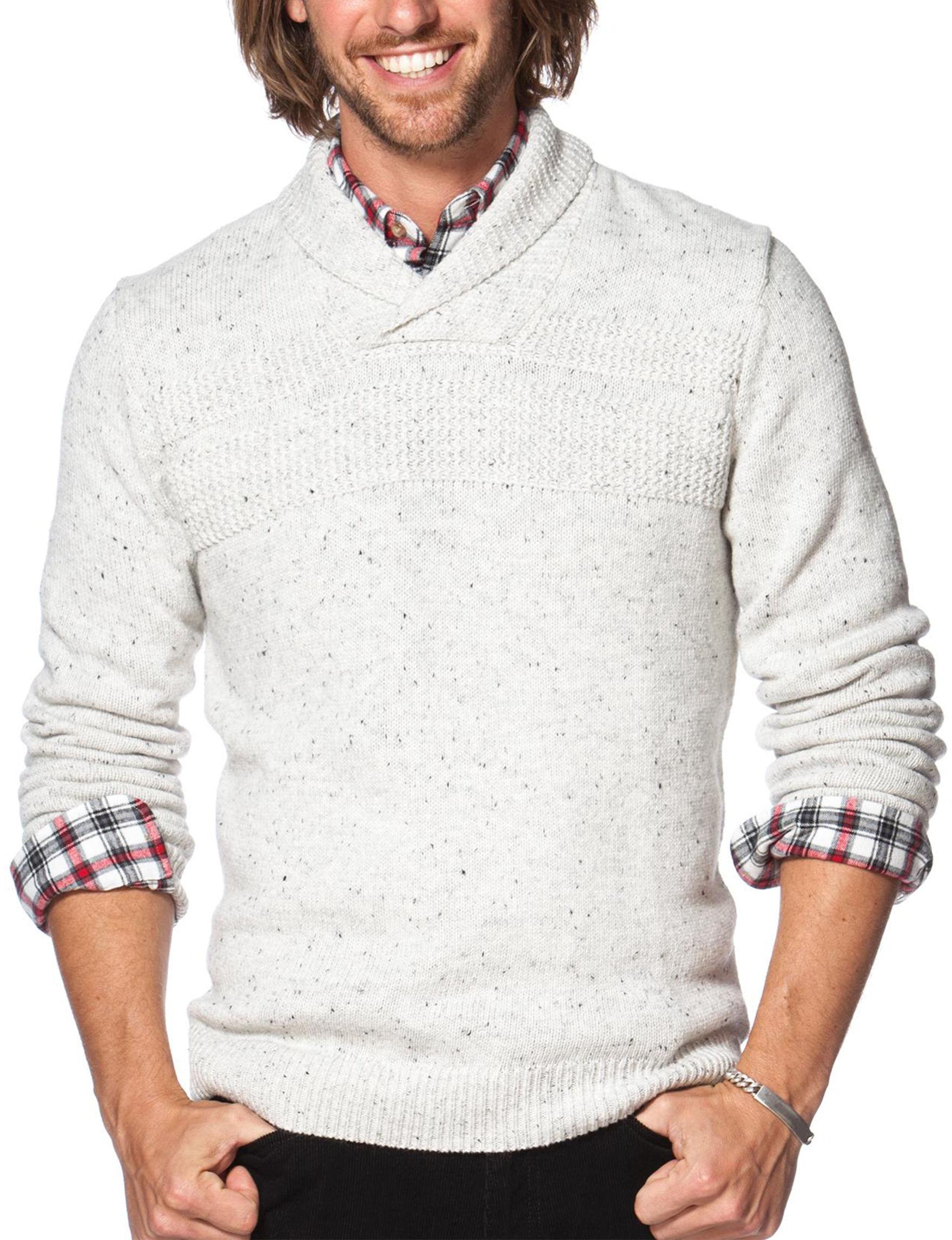 Chaps Arrow Heather Regular Sweaters