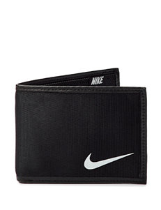 Nike Black Bi-fold Wallets
