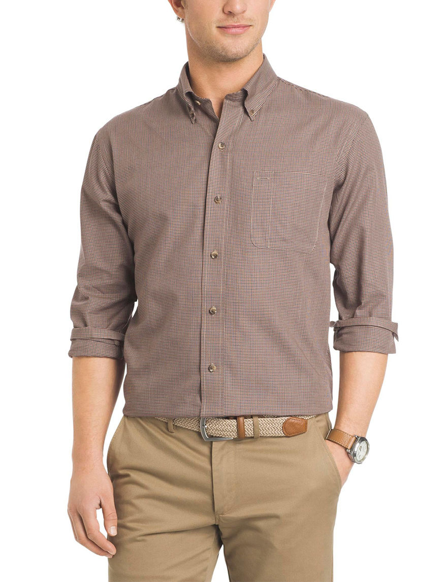 Arrow Chocolate Casual Button Down Shirts