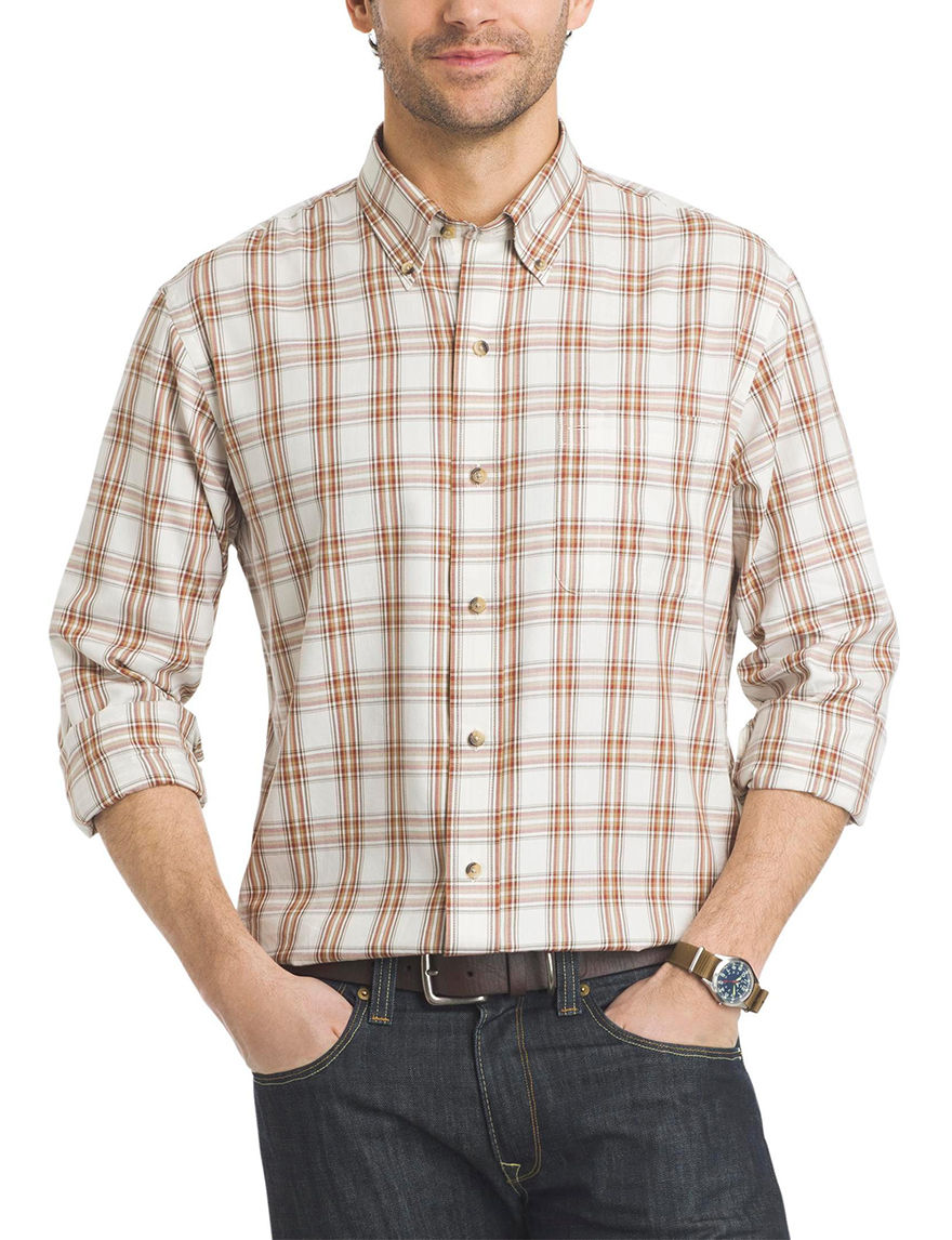 Arrow White Casual Button Down Shirts