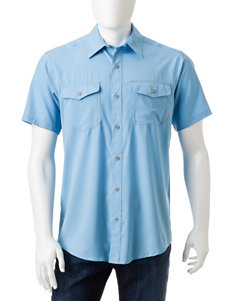 Columbia Blue Sky Casual Button Down Shirts