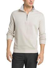 Van Heusen Front Zip Knit Shirt