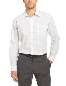 Van Heusen Chambray Casual Button Down Shirts