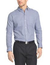 Van Heusen Plaid Print No-Iron Woven Shirt