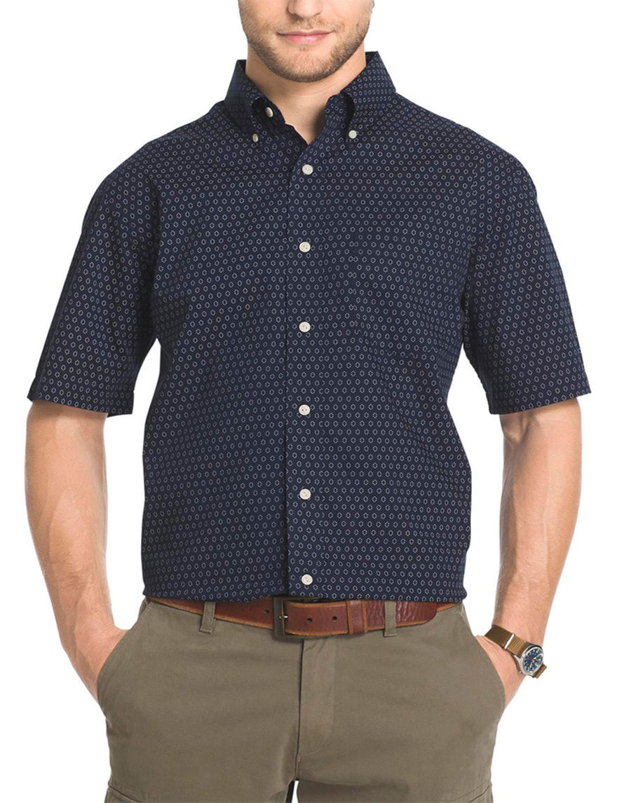 Arrow Navy Blazer Casual Button Down Shirts