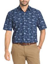 Arrow Nautical Print Sea Jack Woven Shirt