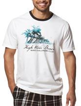 Chaps High Wave Graphic Print T-shirt