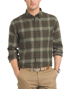 Arrow Green Casual Button Down Shirts
