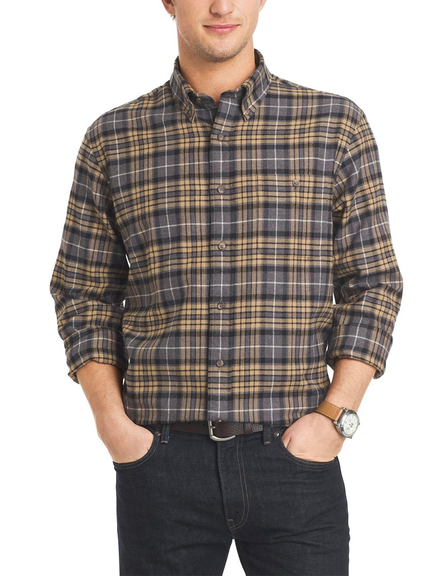 Arrow Raven Casual Button Down Shirts