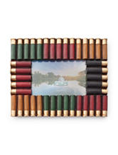 Multicolored Shotshell Picture Frame