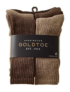 Gold Toe 6-pk. Harrington Crew Socks