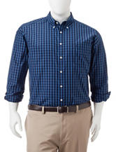 Dockers® Big & Tall Plaid Print Woven Shirt