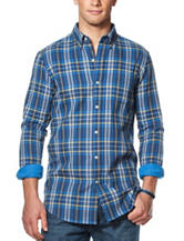 Chaps Plaid Print Woven Shirt