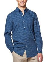 Chaps Floral Print Woven Shirt