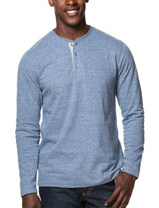Chaps Solid Henley T-shirt