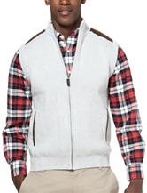 Chaps Zip Sweater Vest