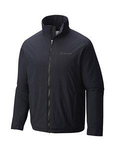 Columbia Black Insulated Jackets Lightweight Jackets & Blazers