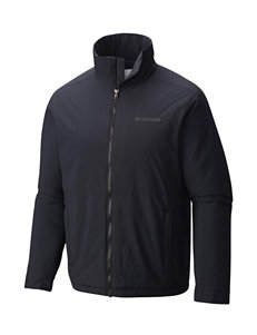 Columbia Black Insulated Jackets Lightweight Jackets & Blazers