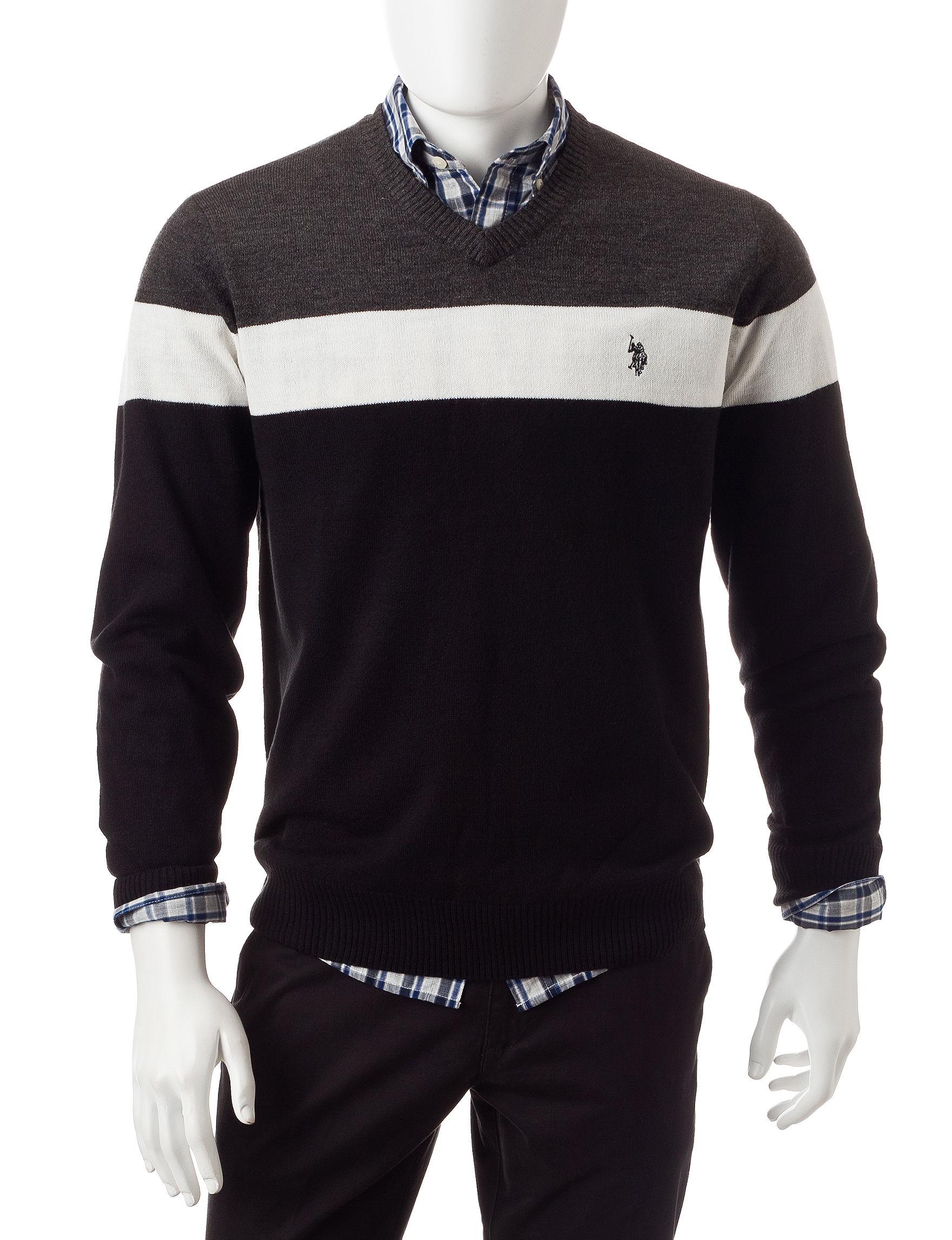 U.S. Polo Assn. Black Sweaters