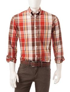 Sun River Natural Casual Button Down Shirts