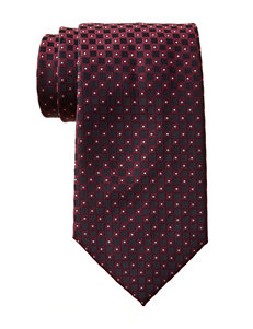Arrow Red Diamond Tie