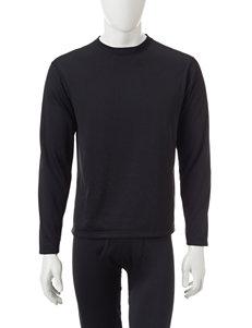 Weatherproof Black Fleece Shirt
