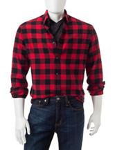 Sun River Buffalo Check Flannel Shirt
