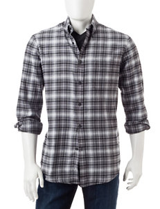 Sun River Onyx Casual Button Down Shirts