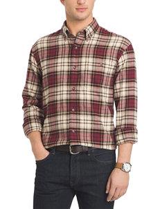 Arrow Big & Tall Saranac Plaid Flannel Shirt