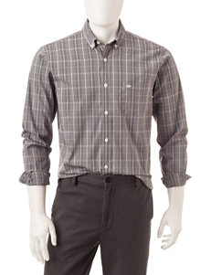 Dockers Plaid Print Wrinkle Resistant Woven Shirt