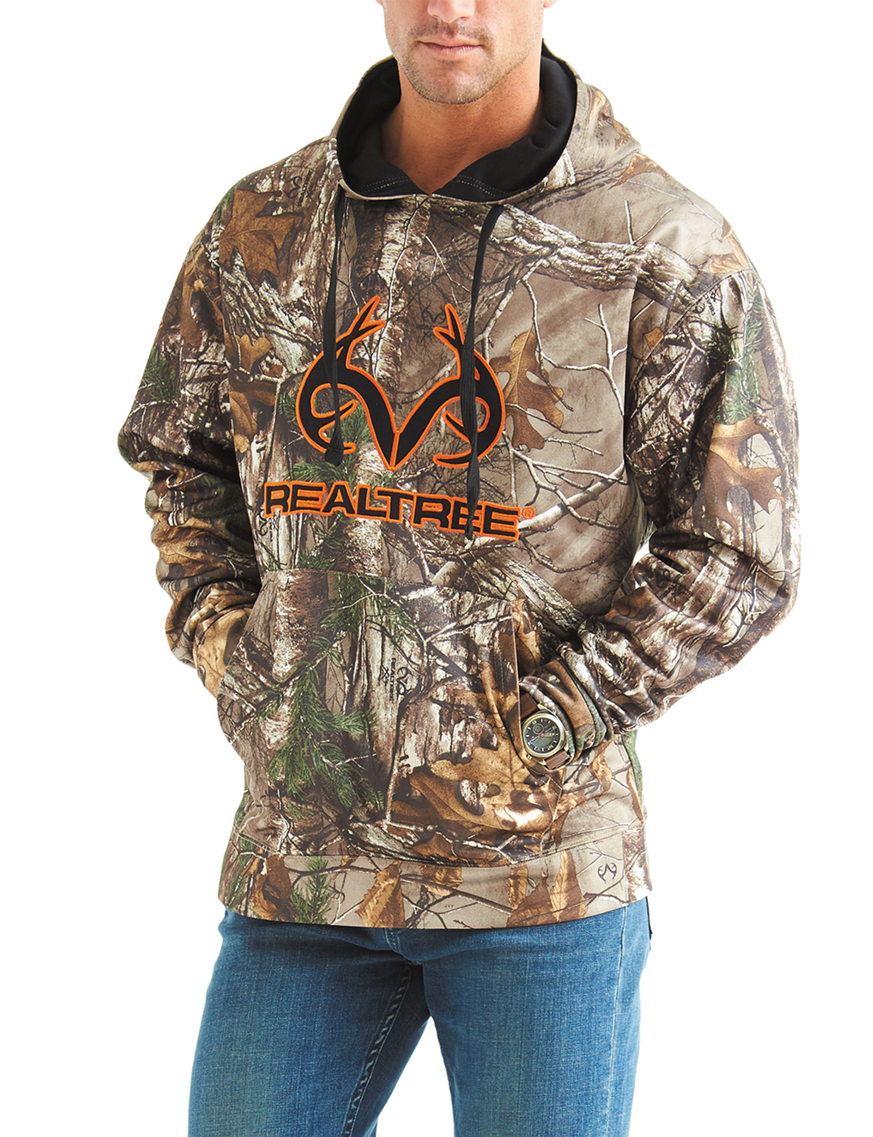 Realtree camo fleece hoodie stage stores for Realtree camo flannel shirt