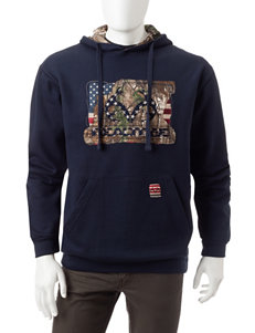Realtree Navy Pull-overs