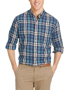 Izod Fieldhouse Plaid Twill Shirt