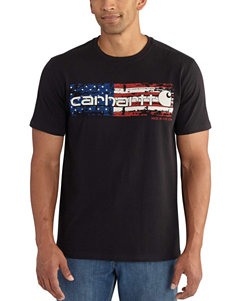 Carhartt Black Tees & Tanks