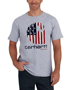 Carhartt Heather Grey Tees & Tanks