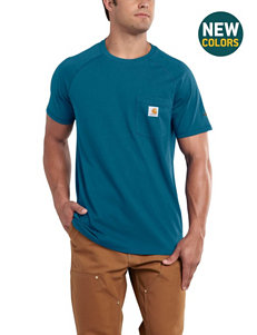 Carhartt Blue Tees & Tanks
