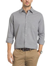 Van Heusen Mini Windowpane Plaid Traveler Shirt