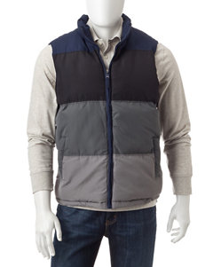U.S. Polo Assn. Navy Puffer & Quilted Jackets