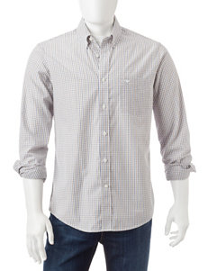 Dockers Timberwolf Casual Button Down Shirts