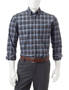U.S. Polo Assn. Multicolor Tattersall Plaid Print Shirt