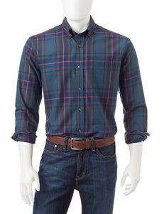 U.S. Polo Assn. Madras Plaid Woven Shirt