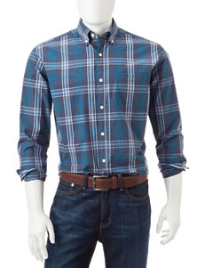 U.S. Polo Assn. Plaid Print Woven Shirt