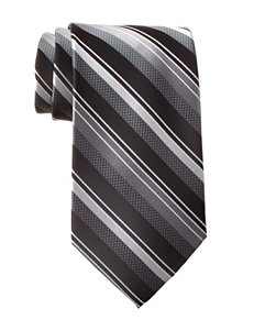 Arrow Modern Tonal Grey Striped Tie